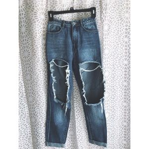 Missguided Mom Jeans